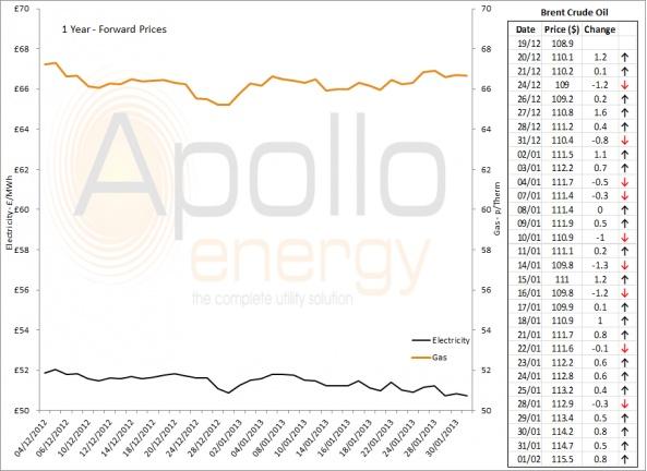 Energy Market Analysis - 01-02-2013