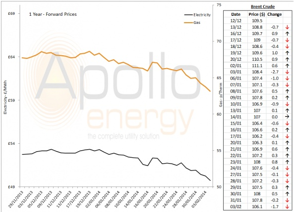 Energy Market Analysis - 03-02-2014