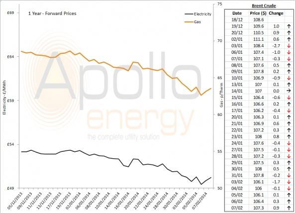 Energy Market Analysis - 07-02-2014