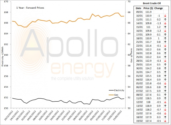 Energy Market Analysis - 19-02-2013