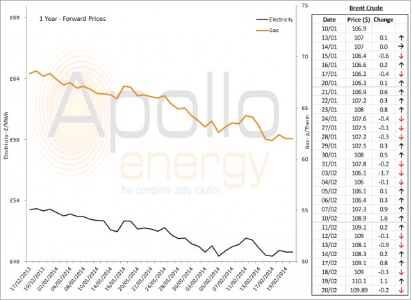 Energy Market Analysis - 20-02-2014