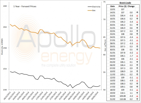 Energy Market Analysis - 21-02-2014