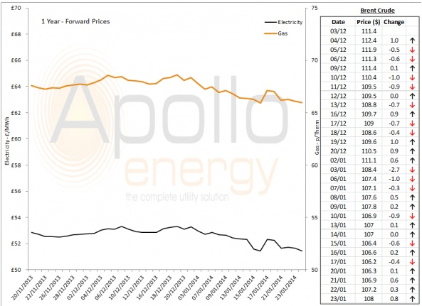 Energy Market Analysis - 23-01-2014