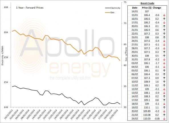 Energy Market Analysis - 24-02-2014
