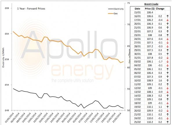 Energy Market Analysis - 25-02-2014