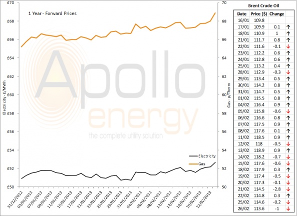 Energy Market Analysis - 26-02-2013