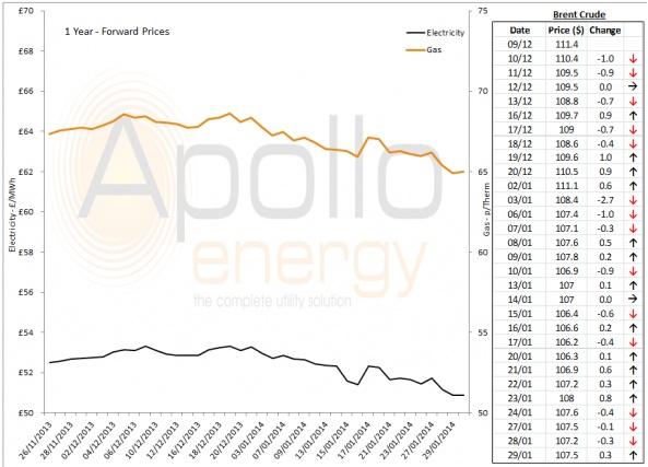 Energy Market Analysis - 29-01-2014