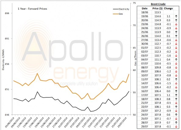 Energy Market Analysis - 29-07-2014