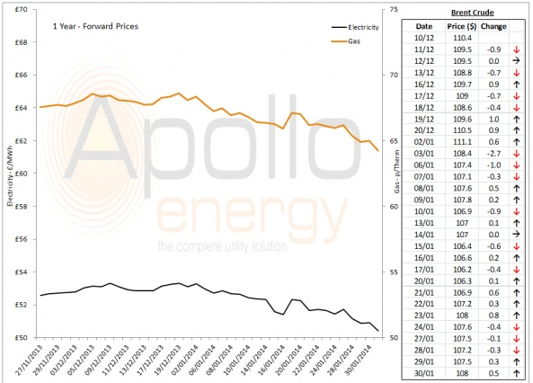 Energy Market Analysis - 30-01-2014