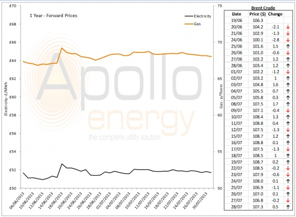 Energy Market Analysis - 30-07-2013