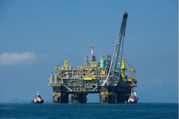 OPEC oil rig