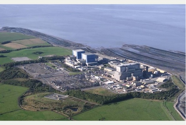 Site of the Hinkley Point project