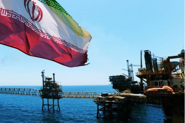 Iranian oil rig