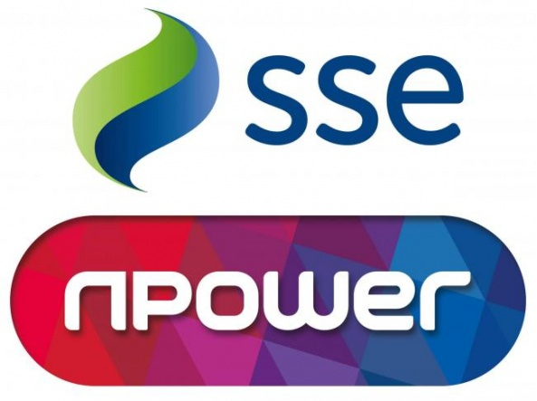 SSE and Npower logos