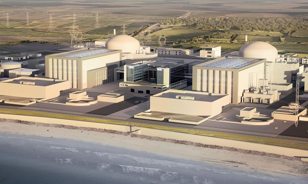 Hinkley Point C nuclear power plant