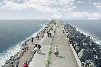 Artist's impression of Swansea Bay
